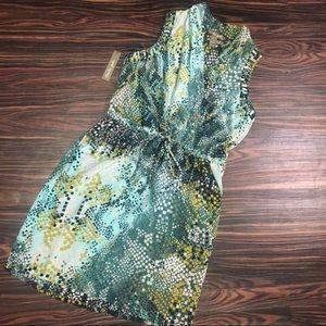 New Silk dress with pockets!